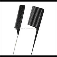 Pinceles Tejido profesional Resaltando Point Pein Peluquería Herramienta de peluquería Negro M3ILI N47UR