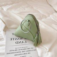 Tassel Bag 2021 Female Summer New Dumpling Handbag Triangle Rice Fashion Ring Sijuj