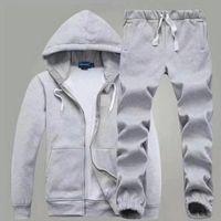 Men's Polo Men S-2XL Sportsman Set Sweatshirt Pants Sportswear Suit And Small Horse Joggers Hombre Pullover Hoodie Trouser