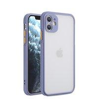 Bumper Shockproof Square Phone Cases for iPhone 12 11 Pro Max iPhonex XR XS 7 8 Plus SE2020 مصنوع من TPU Soft TPU و PC