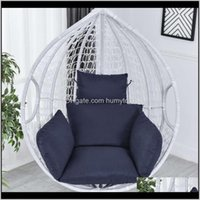 Hammock Chair Cushions Swinging Garden Outdoor Soft Seat 220Kg Dormitory Bedroom Hanging No Camp Furniture Ob6Lg Sxo9R