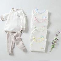 Men's Baby Clothes and Women's Underwear Set Children's Cotton Warm Long Sleeve Autumn Pants Set Winter