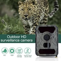 Hunting Cameras Trail Camera PIR Infrared With Night Vision Surveillance Tracking Cams For Monitoring Farm Animals Warehouse