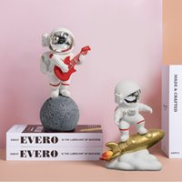 Children's room Nordic style astronaut small ornaments home TV cabinet bookcase creative furnishings bedroom decorations