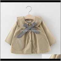 Jackets Outwear Baby, Kids & Maternityborn Girl Autumn Bow Coat Infant Clothes For Children 0-2Years Baby Girls Fashion Clothing Coats1 Drop