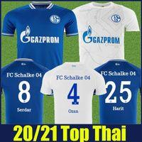20 21 FC Schalke 04 Soccer Jersey Home Alejos Uth Ozan Harit Fútbol Jersey Schalke 04 Raman Serdar Kutucu Matondo Camisetas de fútbol 2020 2021
