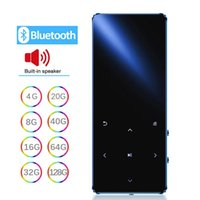 & MP4 Players MP3 Player With Bluetooth Speaker Hifi Portable Walkman Fm Radio Recording Built-in Touch Key 1.8 Inch Tft Screen