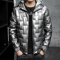 Winter Mens sport parkas down coats fashion warm male down jackets new hood running casual parkas for men