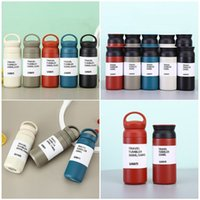 Stainless steel handy thermos cup Milk coffee cups children's portable outdoor sports Water bottle T2I52215