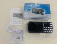 L-088 Taşınabilir Hoparlör MP3 Ses Müzik Çalar Y-501 FM Radyo Hoparlör El Feneri Ile USB Aux TF Yuvası 10 adet