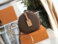 M68276 Mini Boite Chapeau Mulheres Handbags iconic Bags Top Handles Bolsas De Ombro Totes Cross Body Bag Embreagens Noite