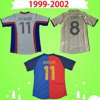 1999年2000 2001 2002レトロビンテージサッカージャージクラシックXavi Riverdo Kluivert Cocuオーバーマルズサヴィオーラゴールデンプイールルイスエニーク99 00 01 02フットボールシャツS-2XL
