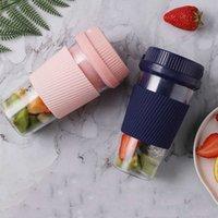 Rosa blaues kreatives tragbares Mini-E-Juicer-Haus-USB-Wiederaufladbare Fruchtrührer-Saft-Tasse ist praktisch und praktisch