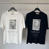 Männer T-shirts Männer Frauen 1: 1 Hohe Qualität Sommer Stil Digitaldruck Lose Top T-Shirts 2021ss Ih Nom Uh NIT Relaxed Mask T-Shirt