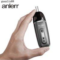 정통 Anlerr Aurola 드라이 허브 기화기 펜 키트 OLED 스크린 0.49 인치 OLED 스크린 2200mAh 배터리 연도 - 경화 담배 장치