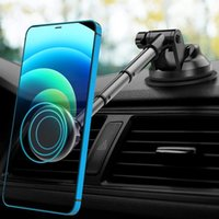Soporte de soporte de teléfono celular Soporte de automóvil XMXCZKJ Magnet universal magnético Montaje para X XS Max Mobile Stand