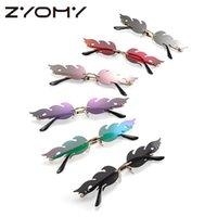 Мода Personnal Unisex Панк Солнцезащитные очки Женщины Очки Негабаритные Пламени Стиль Multicolor Brand Дизайнерские Мужские оттенки UV400