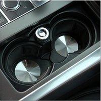 Aluminiumlegierung Auto Becher Halter Matten Fahrzeug Zentralkonsole Flaschenhalter Pads Matte Forland Rover Discovery