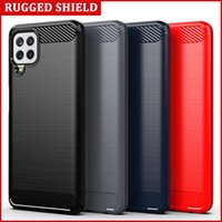 Applicable to Samsung Galaxy M32 international mobile phone case anti falling carbon fiber drawing TPU Soft protective cover