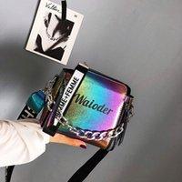 Women Letter Shoulder Bag Popular Female Handbag Holiday PU Leather Messenger Bags For Lady Design Exquisite Crossbody Bucket