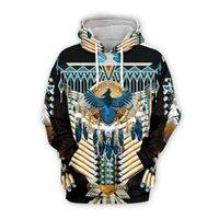 Men's Hoodies & Sweatshirts Native Printing 3D Men Women Fashion Autumn Hooded Long Sleeve Unisex Pullover Tribal Culture Style