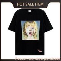 T-shirt de fashion جودة أعلى ماركة طباعة قصيرة تيز الرجال النساء adlv la مصمم vie acme كم pohqm