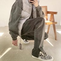 Men's Pants Cole Buxton Split High Street Washed And Distressed Quality Women's Nylon Sweatpants Sports Casual