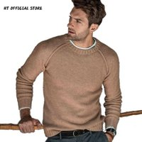 Men's Sweaters Sweater Men Autumn Winter Clothes 2021 Casual Pullover Man Long Sleeve O-Neck Solid Knitted Streetwear