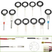 11 Pcs Auto Car accessories Radio Panel Door Clip Panel Trim Dash Audio Removal Kit Repair Hand Cockpit Pry Tool Accessories