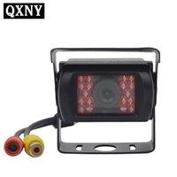 Car Rear View Cameras& Parking Sensors Truck Backup Vehicle Camera For Bus  Trailer Pickups RV Reverse Auto 18 LED IR Night Vision Waterproo