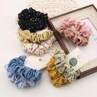 Plaid Scrunchie Bandas de goma elástica para mujer para mujer Chica Holiday Headwear Panipolla Accesorios para el cabello