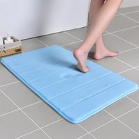 Memory Foam Bath Mat Soft and Comfortable Super Water Absorption Non-Slip Thick Machine Wash Easier to Dry Bathroom Floor Rug