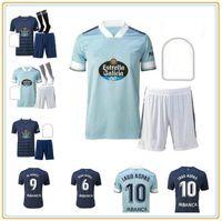 رجل و Kids 2021 Celta دي فيغو لكرة القدم جيرسي lobotka Iago aspas santl كرة القدم قميص سيستو بوفال camiseta فوتبول كيت