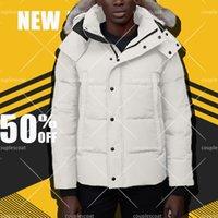 Üst Moda Erkekler Kış Kurt Kürk Seyahat Aşağı Ceket Uzun Parka Rüzgar Geçirmez Açık Kirpi Mont Sıcak Palto Ceket Hoodies