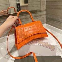 Femmes 2021 Concepteurs de luxe Sandglass Sacs Sacs Alligator Cuir Bandbody Sac Sac à main à l'épaule avec B de haute qualité Porte-monnaie Mode Hobos Portefeuille Multicolore