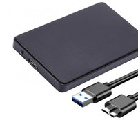 Cantos portátiles de 2.5 pulgadas SATA USB 3.0 5GBPS Caja de disco duro de la caja del disco duro para computadora portátil / PC HDD externo Enclosur Alta velocidad