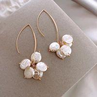 Dangle & Chandelier Arriver Wild Pearl Long Earrings Fashion Jewelry Wholesale