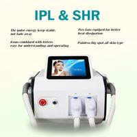 ipl shr آلة سريع دائم الشعر إزالة المحمولة لاستزال الليزر إزالة جهاز الجلد تجديد متعددة الوظائف معدات صالون التجميل سعر المصنع