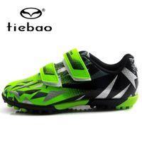 Boys Football Boots Turf Soccer Shoes Kids Cleats Training Sport Sneakers Size 25-32 Chuteira Futebol OQ1S