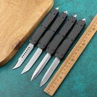 Новый Micro UT85D 2-х частный автоматический нож с углеродным волокном алюминиевой ручкой Наружная самооборона маленький нож стул BM940 изготовлен из автоматического ножа A16 C07