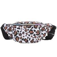 Sacos de cintura Moda Leopard Impresso Feminino Fanny Pack Saco de Telefone Móvel Crossbody para Mulheres Sling Ombro # LR4