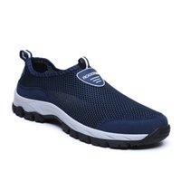 DE20 Zapatos casuales respirando zapatillas de deporte zapatillas de deporte de agua Mucantes de agua Malla de verano Zapatos Los zapatos de caminata aleatoria hombre hombres 39-49 6ll9