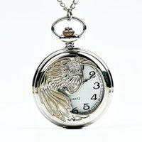Büyük cep saati gümüş phoenix