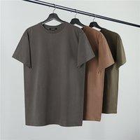 Heavy Fabric T shirts Men Women Cotton Top Tees Inside Tag Calabasas