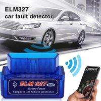 Diagnostic Tools OBD V2.1 V1.5 Mini ELM327 OBD2 Bluetooth Auto Scanner OBDII 2 Car ELM 327 Tester Tool For Android Windows Sy U2H3