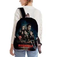 حقيبة الظهر TV Riverdale Season 5 الفتيان الفتيات مراهق أكياس مدرسية للجنسين النساء الرجال أكسفورد للماء السفر دراجة