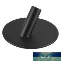 4pcs set Self Adhesive Hook Black Stainless Steel Towel Robe Coat Cloth Bag Holder Hanger Kitchen Hardware Accessories