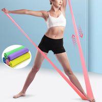 Resistance Bands 150cm -200cm Yoga Rubber Stretch Elastic Band For Fitness Weerstand Excercise Elastique Sport