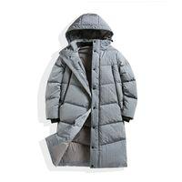 TOPSTONEY 2020 KONNG GONNG WINTER NIEUW MENS lange windjack donsjack mode merk Hoge kwaliteit jas verwarmde bladerdeeg