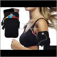 Outdoor Bags Sport Armband Jogging Gym 46 Inch Smartphones Running Arm Band Pouch Holder Bag Case For Samsung Galaxy S9 Plus Phone X 9 Ue97P